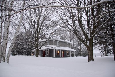 Snowed in at the Farm