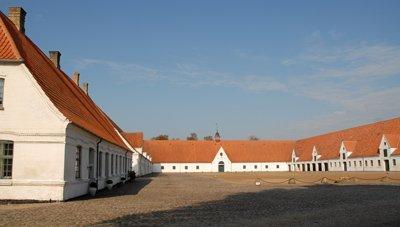 The barns at Hagenskov