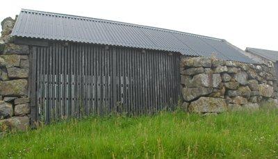 hay storage shed