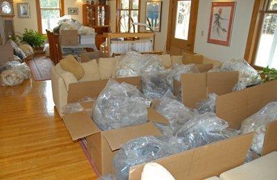 Fleeces ready to be shipped