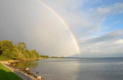 rainbow north of Ballebro