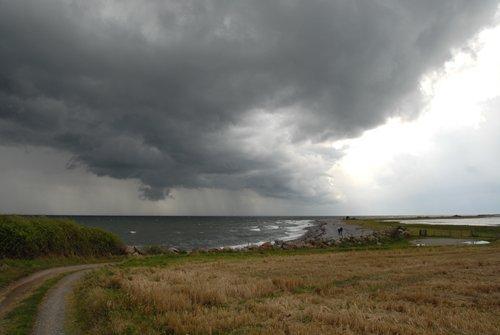storm approaching Langeland