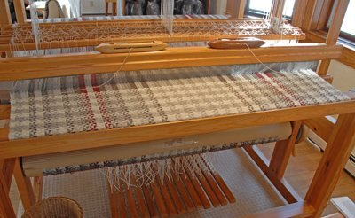 weaving in the middle