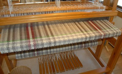 Weaving completed