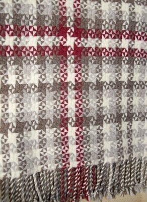 Finished blanket - details