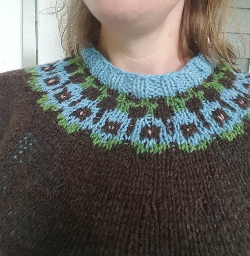 Martha's sweater