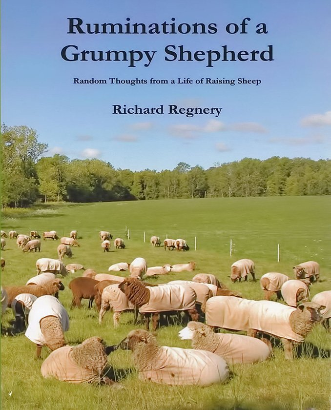 "Cover page for ""Ruminations of a Grumpy Shepherd"""
