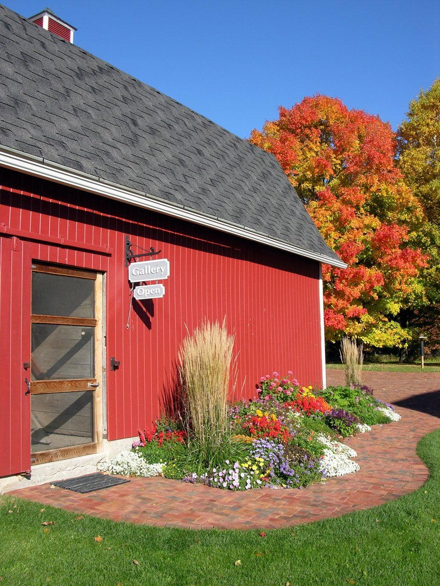 Entrance to Whitefish Bay Farm Gallery