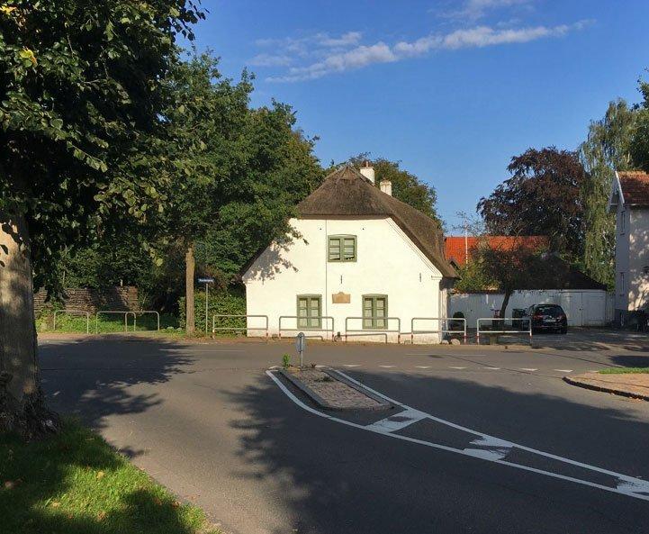 My home in Odense, on Hunderupvej