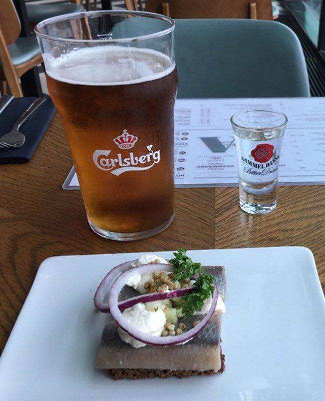My last meal in Denmark