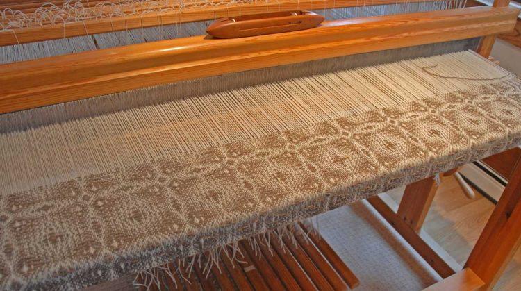 blanket taking shape