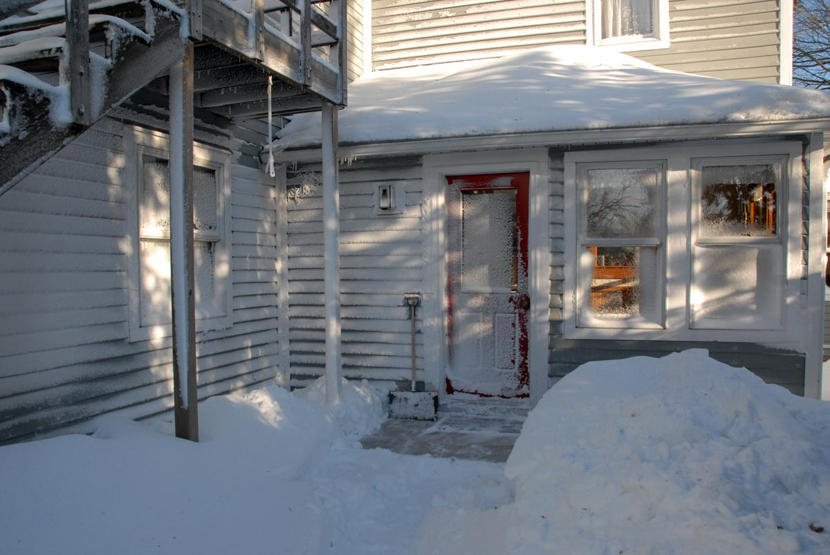 The backdoor after the blizzard