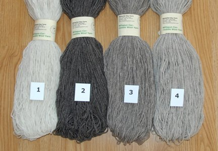 Naturally Colored Yarn